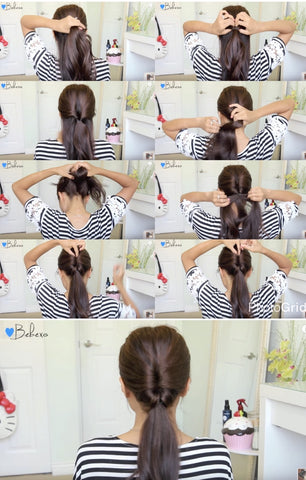 Double Twist Hairstyle | FoxyBae