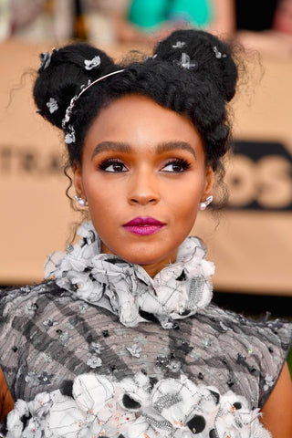 Janelle Monae Red Carpet Hairstyle | FoxyBae