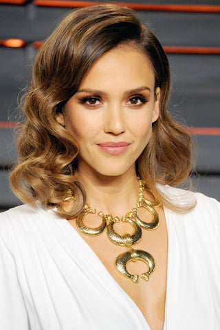 Jessica Alba Shoulder Length Hair | FoxyBae