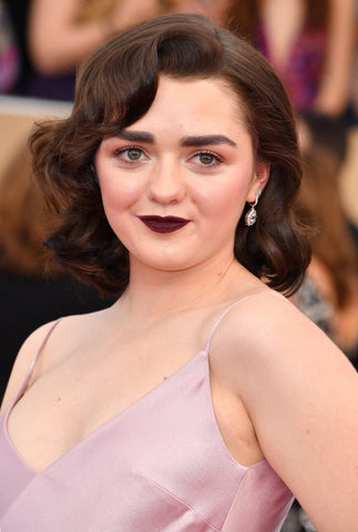 Maisie Williams SAG Award Hair | FoxyBae