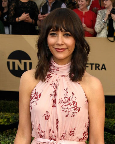 Rashida Jones SAG Awards Bangs | FoxyBae