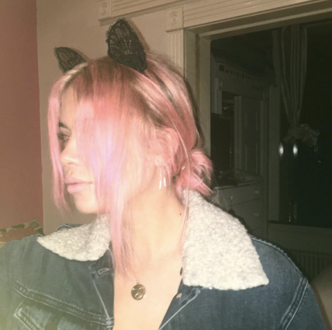 Ashley Benson Pink Hair | FoxyBae