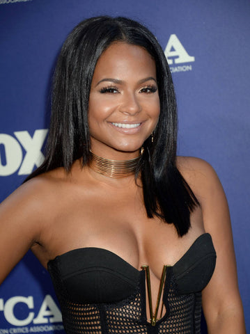 Christina Milian Shoulder Length Hairstyle | FoxyBae