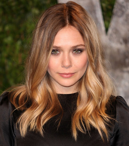 Elizabeth Olsen Shoulder Length Hair | FoxyBae