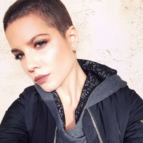 Stunning With Celebs With Super Short Hair Foxybae Com
