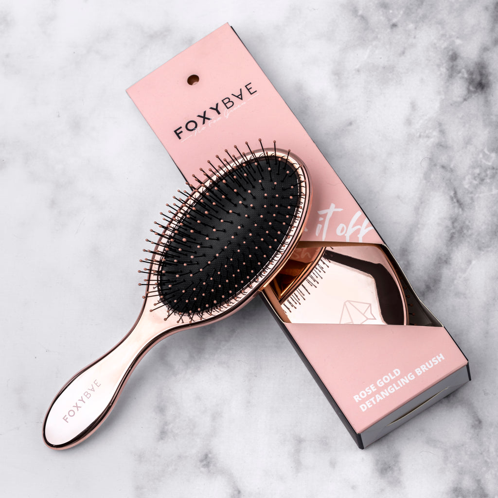 ROSE GOLD DETANGLING BRUSH