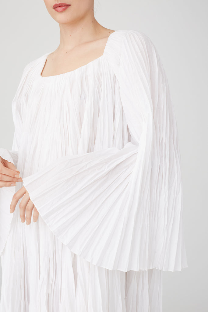 Pleated Gia Dress