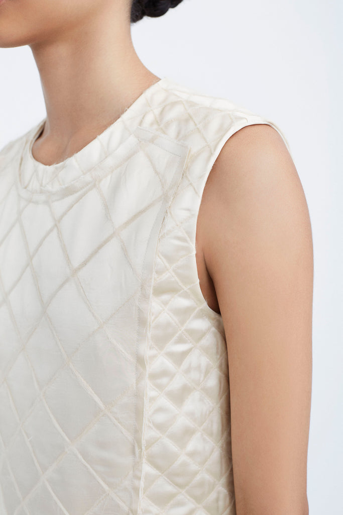 Quilted Patchwork Sheath