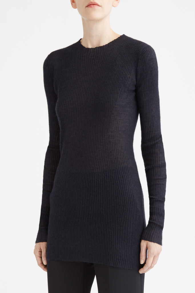 Long Sleeve Rib Knit