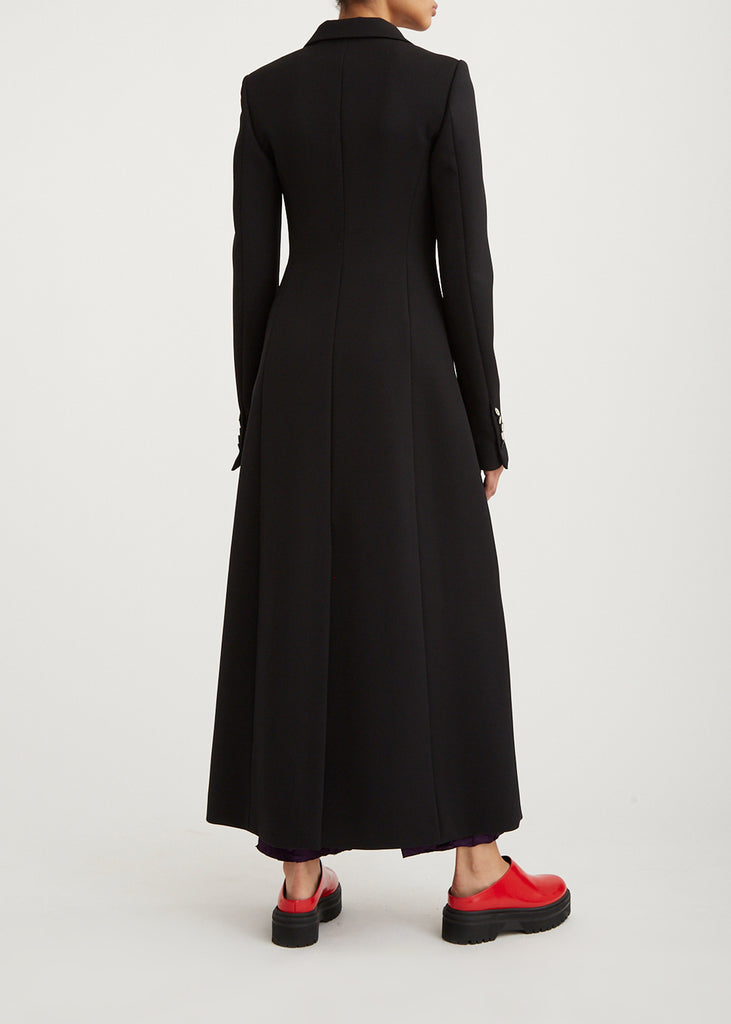 Waisted Coat Dress