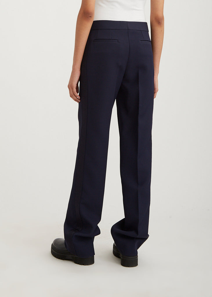 Slouch Trouser with Stripe
