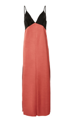 Slipdress with Paneling