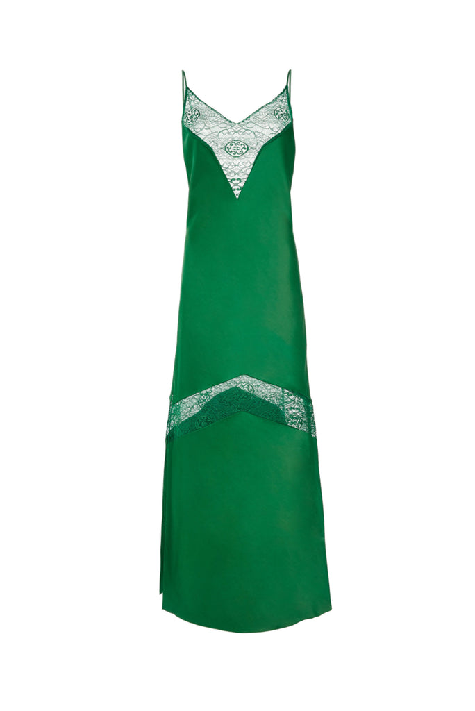 Slipdress with Lace Inlay
