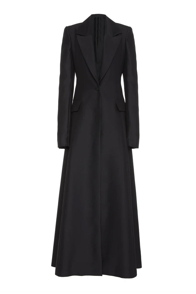 Tailored Cleric Coat Dress