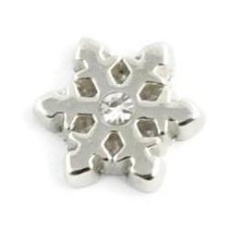 Snowflake Christmas Floating Charm