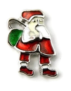 St. Nick Christmas Floating Charm