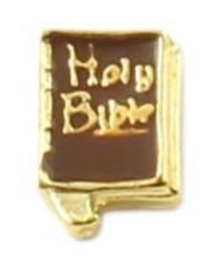 Holy Bible Floating Charm
