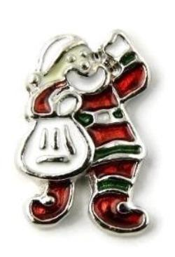 Santa Claus Christmas Floating Charm