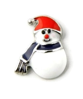Snowman Christmas Floating Charm