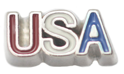 USA Floating Charm