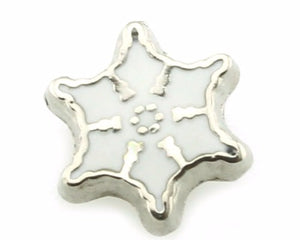 Snowflake Floating Charm