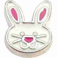 Easter Bunny Floating Charm