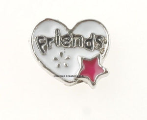 Friends Floating Charm