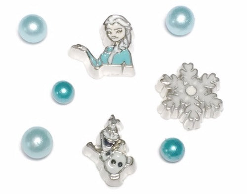 Elsa And Olaf Frozen Floating Charms