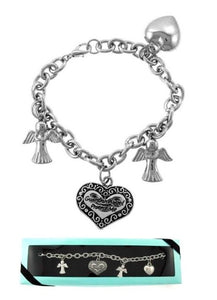 Guardian Angel Protect Me Bracelet In Gift Box