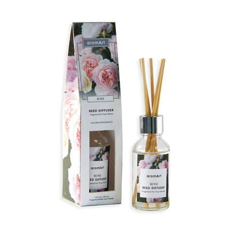 Rose Scent Mini Reed Diffuser