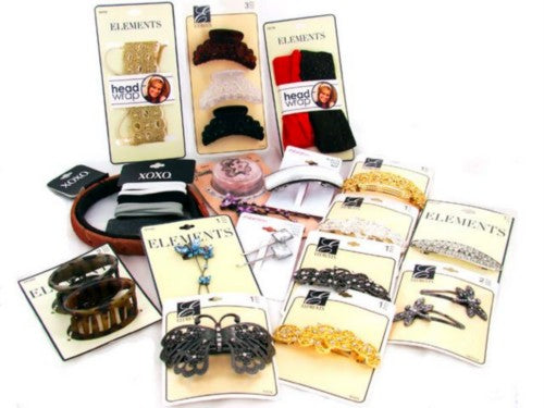 Wholesale Assortment Of Hair Accessories
