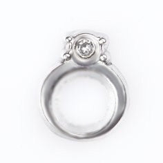 Engagement Ring Floating Charm