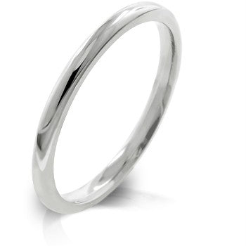 Women's Stainless Steel Wedding Band