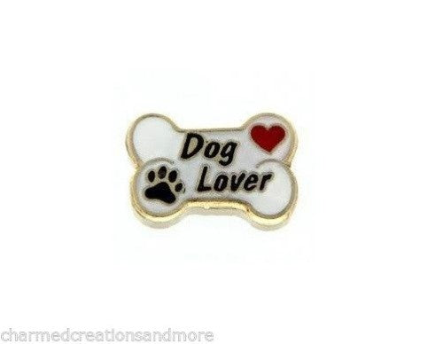 Dog Lover Floating Charm