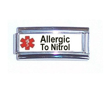 Allergic To Nitrol Super Link 9mm Italian charm