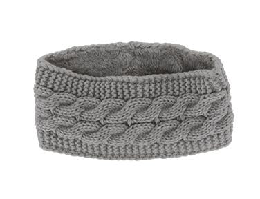 Britt's Knits Cable Knit Plush-Lined Headwarmer's