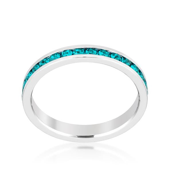 December Stackable Eternity Ring