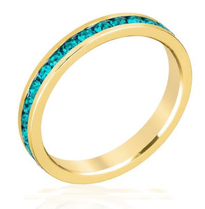 December Stackable Eternity Ring In Gold