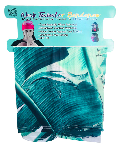 Earth And Surf Neck Tublar Multi Function Cooling Face And Neck Cover Bandana