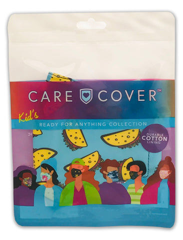 NEW! Taco Kids Care Cover Face Mask