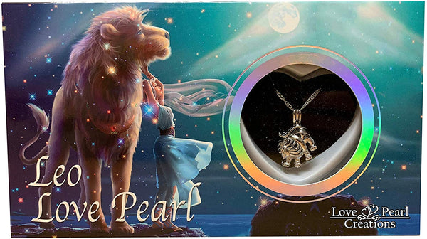 Love Pearl™ Leo Zodiac Necklace DIY Oyster Opening Kit