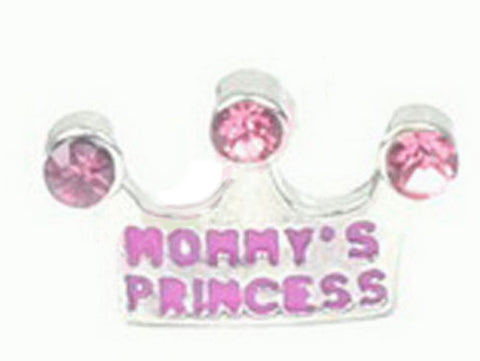 Mommy's Princess Floating Charm