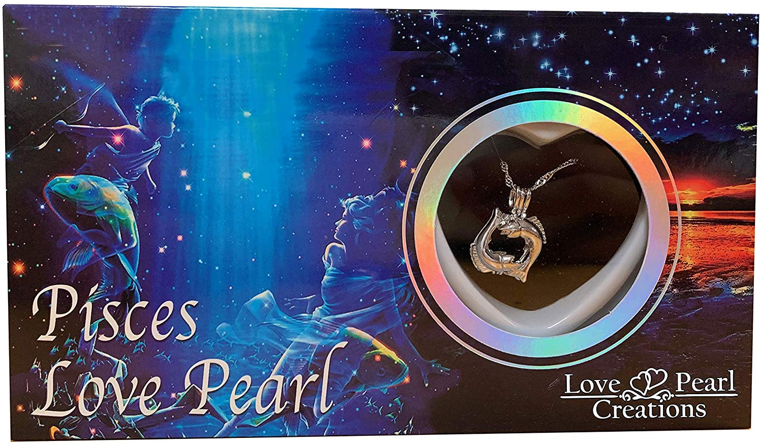 Love Pearl™ Pisces Zodiac Necklace DIY Oyster Opening Kit
