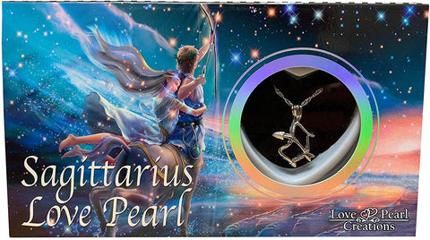 Love Pearl™ Sagittarius Zodiac Necklace DIY Oyster Opening Kit