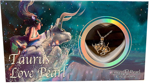 Love Pearl™ Taurus Zodiac Necklace DIY Oyster Opening Kit