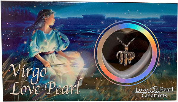 Love Pearl™ Virgo Zodiac Necklace DIY Oyster Opening Kit
