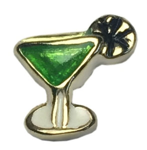 Appletini Floating Charm