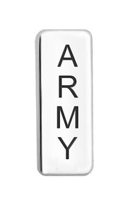 Army Floating Charm