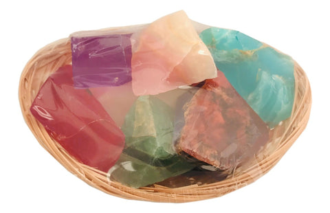 Basket Of Gems SoapRocks Sampler Pack