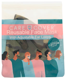 Camo Adult Care Cover Face Mask
